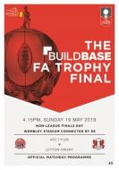 Buildbase FA Trophy Final 19th May