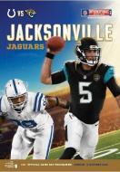 NFL Programme Indianapolis Colts @ Jacksonville Jaguars