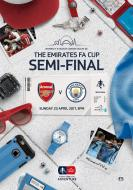 FA Cup Semi Final 23.04.2017 Arsenal v Manchester City