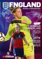 Womens England v Bosnia Programme 24th November 2017