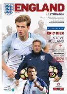 England V Lithuania Official England Programme 26.03.17
