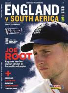 England V South Africa Test 1 Official Cricket Programme
