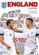England V Slovakia Official Programme 04.09.17