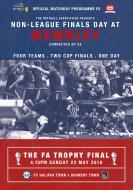The FA Vase/Trophy Final Programme