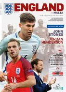 England V Malta 2018 FIFA world Cup Qualiflier - Official Programme