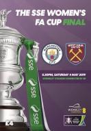 Women's FA Cup Final 2019 MAN CITY WEST HAM