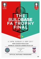 Non-League Finals Day 21.05.17 Official Matchday Programme