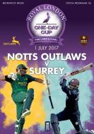 Royal London One-Day Cup Notts Outlaws V Surrey