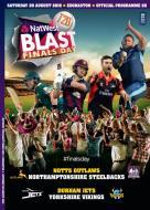 T20 Finals Day Programme Notts/Northants - Durham/Yorkshire