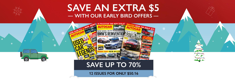 Autocar Early Bird 2020 USA