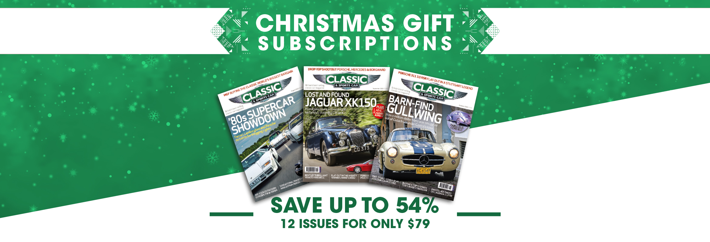 Classic & Sports Car Christmas 2020 USA