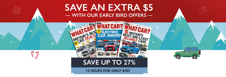 What Car? Early Bird 2020 USA